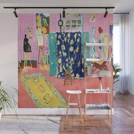 Henri Matisse The Pink Studio Wall Mural
