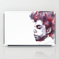 prince iPad Cases featuring Prince by Allison Kunath