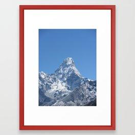 Ama Dablam Framed Art Print