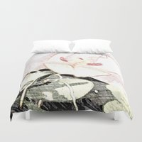 orchid Duvet Covers featuring Orchid by Mr and Mrs Quirynen
