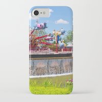 dumbo iPhone & iPod Cases featuring Dumbo Ride by ThatDisneyLover