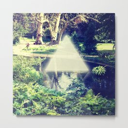 TRI light garden Metal Print