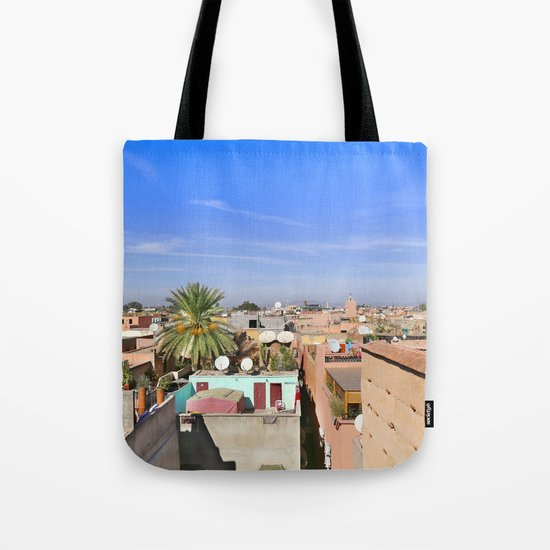 Marrakech Beauty Tote Bag