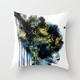 Confined Thoughts Throw Pillow