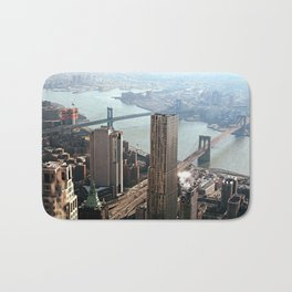 Vintage New City Bath Mat