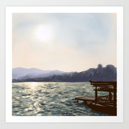 The Summer Palace Art Print