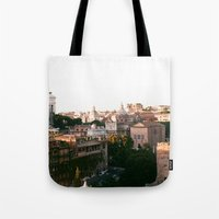 italy Tote Bags featuring italy by paulina