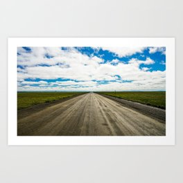 Endless Horizon Art Print