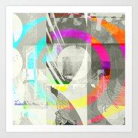 Polar Vortex Art Print