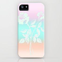 Pastel Roses iPhone Case