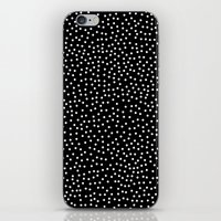 dots iPhone & iPod Skins featuring Dots by Priscila Peress