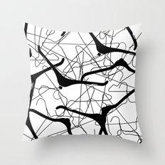 Hangle Tangle Throw Pillow