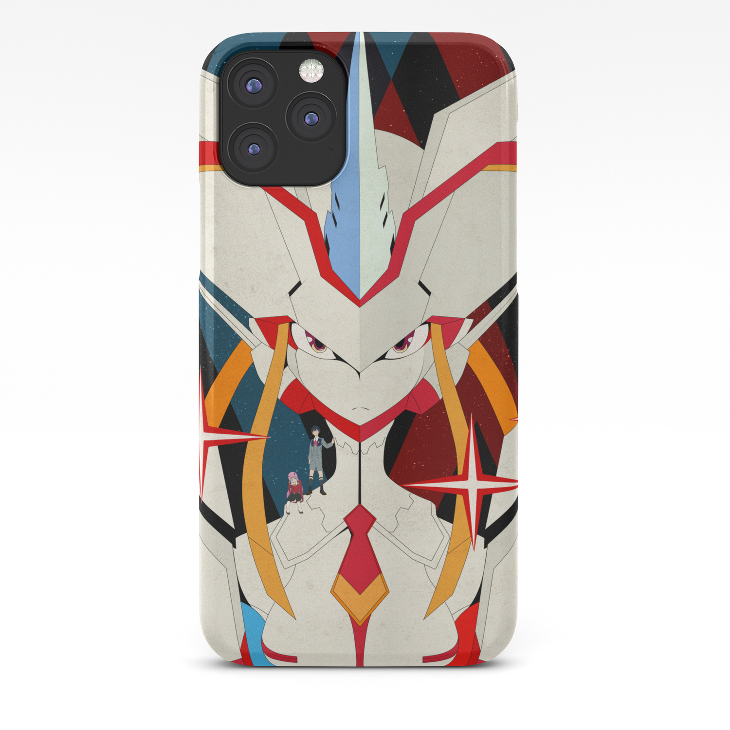 Darling In The Franxx Hiro And Zero Two Iphone Case By Fantasylife Society6