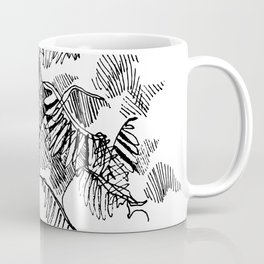 Fern Floor :: Single Line Coffee Mug