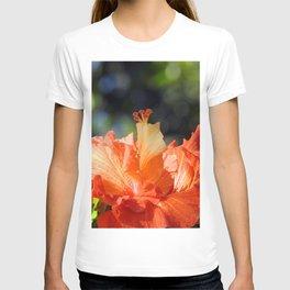 Flamingo Hibiscus T-shirt