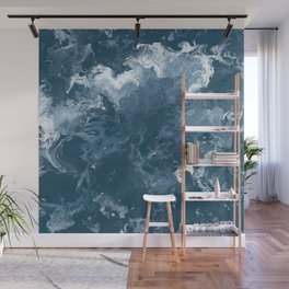 Oceanic Flow Wall Mural