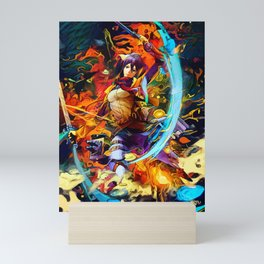 Asian one Mini Art Print