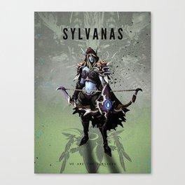 Legends of Gaming - Sylvanas Canvas Print