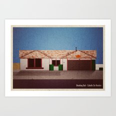 Breaking Bad - Caballo Sin Nombre Art Print