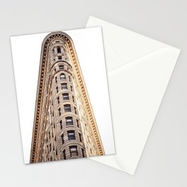 sir flatiron Stationery Cards