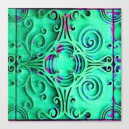 Ornate Flourish Art Deco Detail Canvas Print