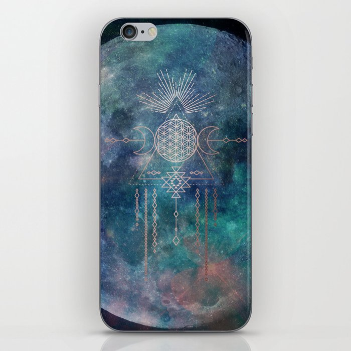Lunar Goddess Mandala iPhone Skin