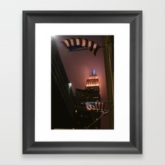 Blown Away | New York City Framed Art Print