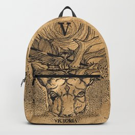 Fortune Favors The Bold Backpack