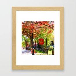 The Christmas Shoppe Framed Art Print