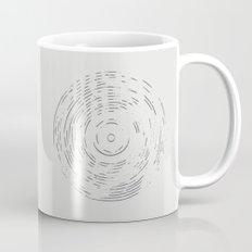 Record Black and White Coffee Mug