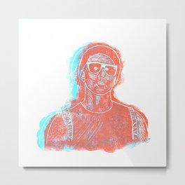3D Josh (Ride) Metal Print