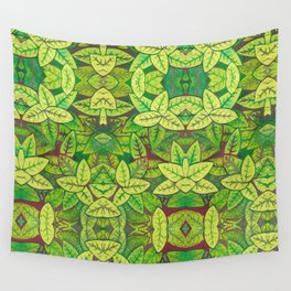 Spring leaves Wall Tapestry