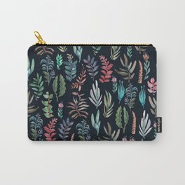 water color leaves color leaves Carry-All Pouch