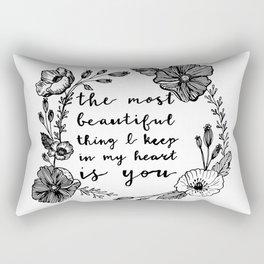 Beautiful Poppies Rectangular Pillow