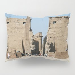 Temple of Luxor, no. 12 Pillow Sham