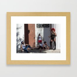 Reclamation by Karmenife Paulino and Tess Altman  Framed Art Print
