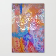 Bindu Alligning Canvas Print