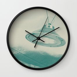 UFO II Wall Clock