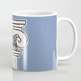 Greek ionic column Coffee Mug