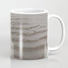Ripples of Sand at the Shore Coffee Mug