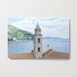 Looking out from Dubrovnik Metal Print