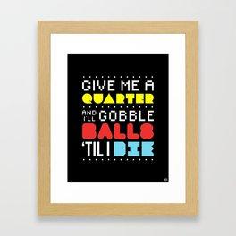 'Gobble Gobble' Framed Art Print