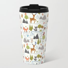 Funny Forest Map Travel Mug