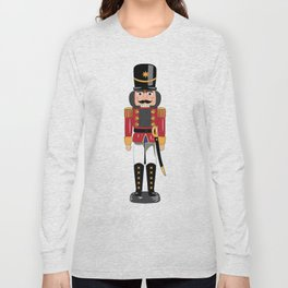 Christmas nutcracker soldier Long Sleeve T-shirt