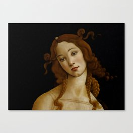 "Sandro Botticelli ""Venus"" (Sabauda Gallery, Turin) Canvas Print"