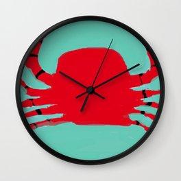 The Faceless Crab Wall Clock