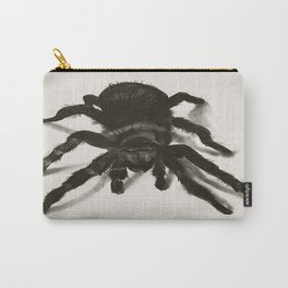 """it's estimated that there is a spider within 2 feet of every human being on the planet"" Carry-All Pouch"