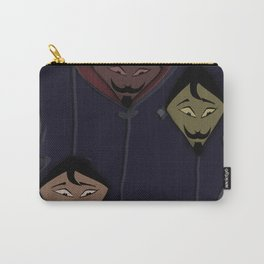 Face, comic and magic type abstract design Carry-All Pouch