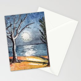 Moonlight in Mozambique Stationery Cards