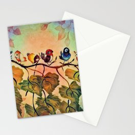 Spring Peeps Stationery Cards